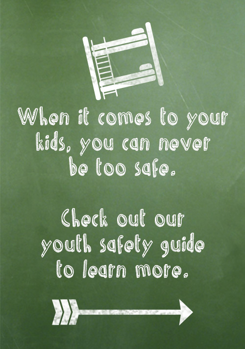 Learn More About Youth Bedroom Safety Features