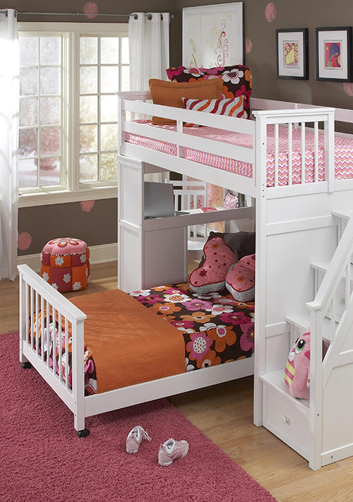 Superbe Twin Over Twin Bunk Bed