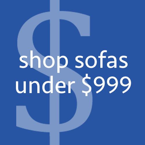 Shop Sofas Under $999